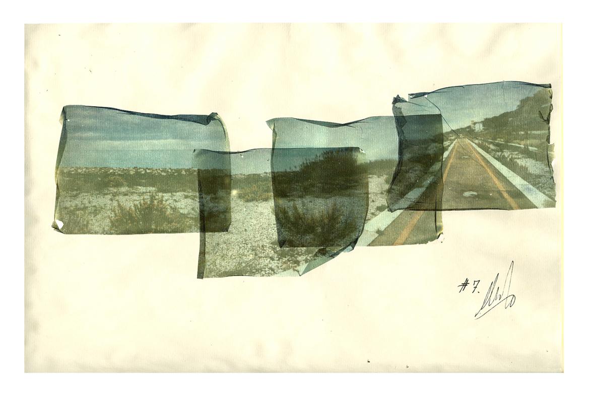 Foto 5 – Polaroid delaminate Stazione San Vito Marina