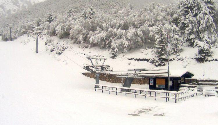 Neve a Maggio a Ovindoli