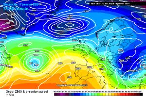 Il meteo in Abruzzo 15 – 21 gennaio: sensibile calo ...