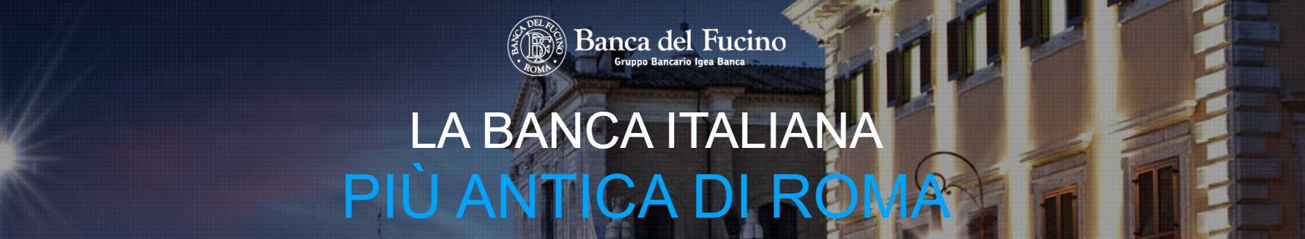 Banca del Fucino bannerone (ex Rustichella)